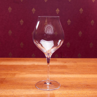 Luigi Set of Two Red Wine Glasses