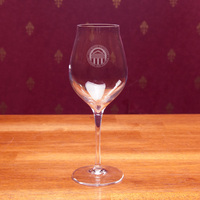 Luigi Bormioli Set of 2 Titanium White Wine Glasses(Online Only)