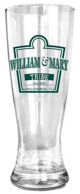 William and Mary Glass Pilsner