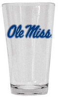 Ole Miss Glass Mixer