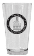 Southern Mississippi Eagles Glass Mixer