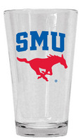 SMU Mustangs Glass Mixer