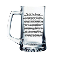 South Carolina Gamecocks Glass Tankard