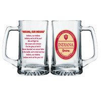 Indiana Hoosiers Glass Tankard