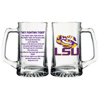 LSU Tigers Glass Tankard