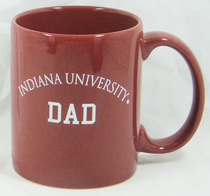 Indiana Hoosiers Dad Coffee Mug