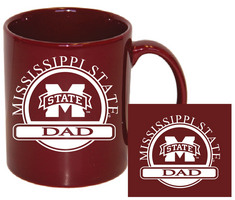 Mississippi State Bulldogs Dad Coffee Mug