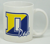 Delaware Blue Hens Dad Coffee Mug