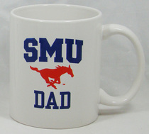 SMU Mustangs Dad Coffee Mug