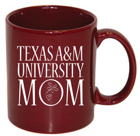 Texas A&M Aggies Mom Coffee Mug
