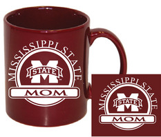 Mississippi State Bulldogs Mom Coffee Mug