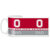 Ohio State Buckeyes Color Max Dad Mug