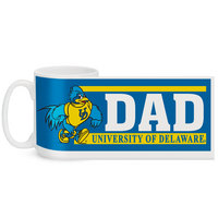 Delaware Blue Hens Color Max Dad Mug