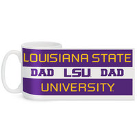 LSU Tigers Color Max Dad Mug