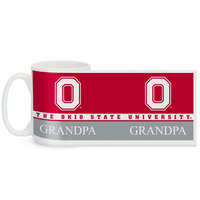 Ohio State Buckeyes Color Max Grandpa Mug