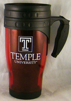 Temple Acrylic Travel Mug with Handle