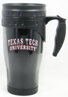 Texas Tech Red Raiders Acrylic Travel Mug with Handle
