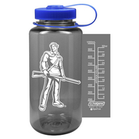 WVU Mountaineers Nordic Company Widemouth Nalgene Bottle