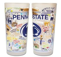 Penn State Drinking Glass