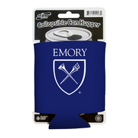 Emory Eagles Collapsible Can Hugger