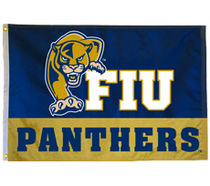 FIU Screen Printed Flag