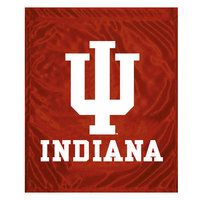 Indiana Hoosiers Garden Flag with Window Bracket