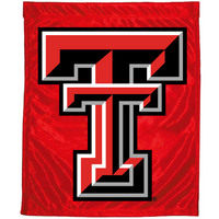 Texas Tech Red Raiders Garden Flag with Window Bracket