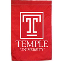 Temple Embroidered/Appliqued Home Banner