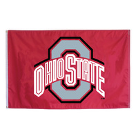 Ohio State Buckeyes Flag