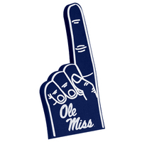 Ole Miss Foam Finger