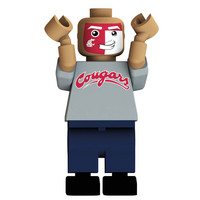 COLLEGE FOOTBALL FAN MINIFIGURE