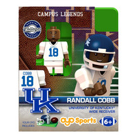 COLLEGE FOOTBALL CAMPUS LEGENDS MINIFIGURES  Randall Cobb