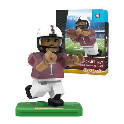 COLLEGE FOOTBALL CAMPUS LEGENDS MINIFIGURES Alshon Jeffrey