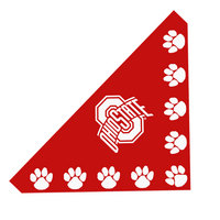 Ohio State Buckeyes Pet Bandana