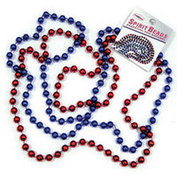 Ole Miss School Spirit Beads