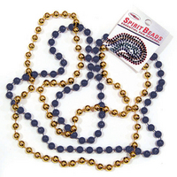 WVU Mountaineers Spirit Beads
