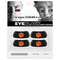 Clemson Tigers MCM Eye Black Decal