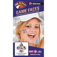 LSU Tigers Waterless Game Faces by Team Dynamics