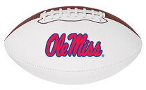 Ole Miss Baden Official Size Autograph Football
