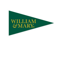 William and Mary Mini Logo Pennant Magnet from Collegiate Pacific