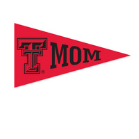 Texas Tech Red Raiders Mini Logo Pennant Magnet from Collegiate Pacific