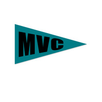 Mini Logo Pennant Magnet from Collegiate Pacific