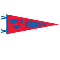 SMU Mustangs Pennant from Collegiate Pacific