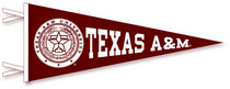 Texas A&M Aggies Pennant from Collegiate Pacific