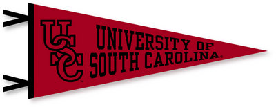 South Carolina Gamecocks Logo Pennant from Collegiate Pacific