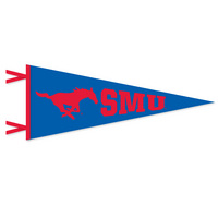 SMU Mustangs Logo Pennant from Collegiate Pacific
