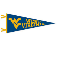 WVU Mountaineers Logo Pennant from Collegiate Pacific