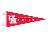 Houston Cougars Logo Pennant from Collegiate Pacific