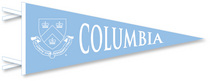 Columbia University Logo Pennant from Collegiate Pacific