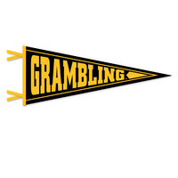 Grambling State Tigers Logo Pennant from Collegiate Pacific